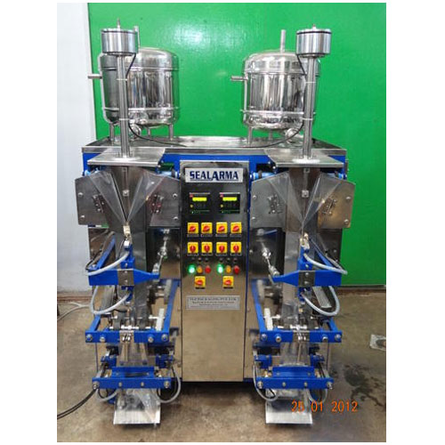 Double Head LMVGD Water Pouch Packing Machine